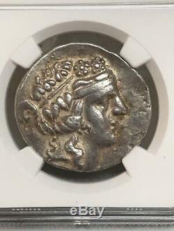 Thrace 2nd Century BC AR Tetradrachm NGC Choice VF! 4632883-001