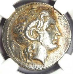 Thrace Lysimachus Alexander AR Tetradrachm Coin 305-281 BC Certified NGC XF