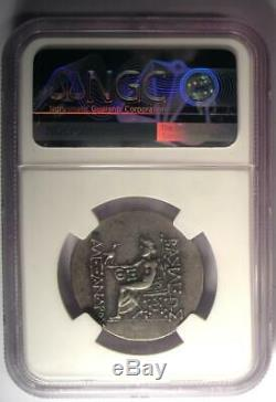 Thrace Odessus Alexander the Great III AR Tetradrachm Coin 125-70 BC NGC XF