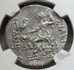 175-125 Av. C. Argent Thrace, Tétradrachme De Mesambria Alexandre III Ngc Choice Xf