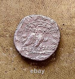 179-168 C.-b. Royaume De Macedon Argent Tétradrachme Persée Toné