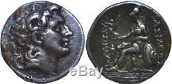 323-281 Bc Thrace Lysimaque Alexandre III Le Grand Tétradrachme D'argent