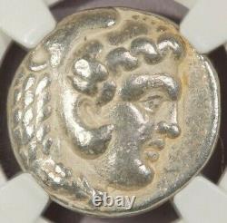 323-317 Av. J.-c. Royaume De Macedon Ar Tetradrachm Philip III Ngc Ch F B-3