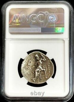 336- 323 Av. J.-c. Argent Macedon Tetradrachm Alexander The Great Ptolémée Ngc Choice Vf