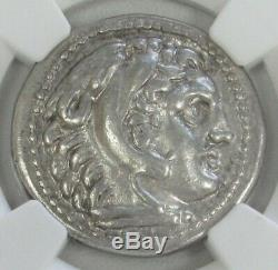336 323 Bc Argent Macedon Tetradrachm Alexander III Coin Ngc Choix Très Fin
