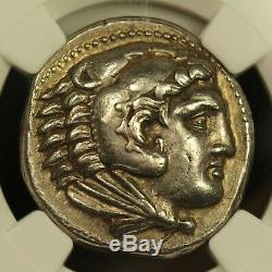 336 B. C. Grec Ancien Tétradrachme D'argent, Alexandre Le Grand, Ngc Choix Ch Xf