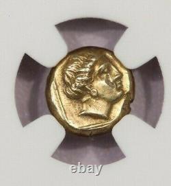 377-326 Av. J.-c. Isl. De Lesbos Mytilene El Hecte Obv Kabeiros Persephone Ngc Xf B-5