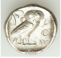440-404 Bc Antique Grèce Attique Athènes Ar Tétradrachme Xf Choix MID Cycle Owl