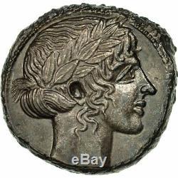 # 510852 Coin, Sicile, Leontini, Tetradrachm, Argent, Gns Ans223, Hgc2-667