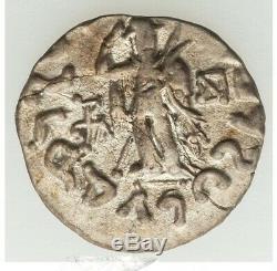 58-12 Bc Indo-scythe Uni, Azes I Ar Tetradrachm Xf