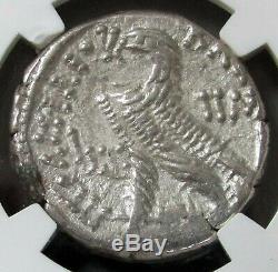 80-51 Bc Ptolémaïque Royaume Ar Tetradrachm Ptolémée XII Coin Ngc A Propos Unc 4/5 5/5