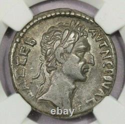 96-98 Ad Syrie, Antioche Nerva Ar Tetradrachm Rv Aigle Fulmen Ngc Xf B4