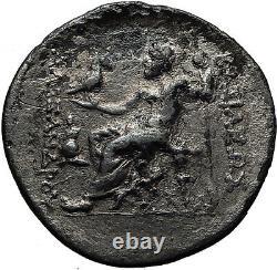 Alexander III Le Grand 250 Bc Argent Ancien Tétradrachme Grec Pièce Zeus I60665