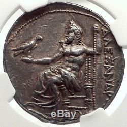 Alexander III Le Grand 325bc Pella Tétradrachme Argent Grec Monnaie Ngc I69561
