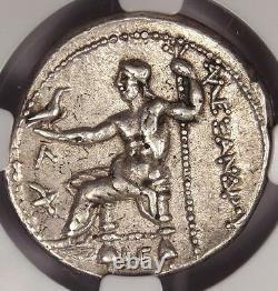 Alexander Le Grand Ar Tetradrachm 336-323 Bc Certifié Ngc Xf (ef) Nice