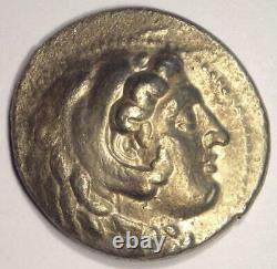 Alexander Le Grand III Ar Tetradrachm Coin 336-323 Bc Nice Xf Condition