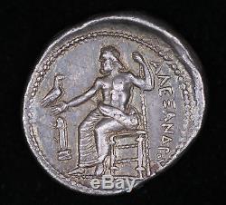 Alexander Tetradrachm 336 323 Bc Argent Presque Unc Zeus Grec Ancien Coin