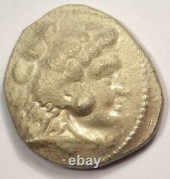 Alexander The Great III Ar Tetradrachm Coin 336-323 Bc Au Détails