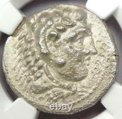 Alexander The Great III Ar Tetradrachm Coin 336-323 Bc Certifié Ngc Au