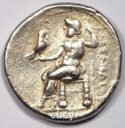 Alexander The Great III Ar Tetradrachm Pièce 336-323 Av. J.-c.