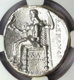 Alexander The Great III Ar Tetradrachm Pièce 336-323 Bc Certifié Ngc Choice Vf