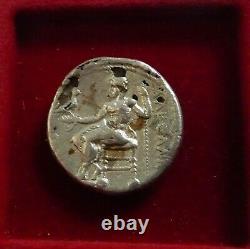 Alexandre III Le Grand, 336 323 Av. J.-c. Fouree Tetradrachm Kyrene Type Menthe