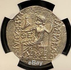 Alexandre Le Grand 125-70bc Grec Ancien Tétradrachme D'argent Odessus Ngc Au