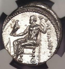 Alexandre Le Grand Ar Tetradrachm Coin 336-323 Bc, Lifetime Ngc Choice Au