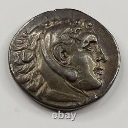 Alexandre Le Grand Ar Tetradrachm De Mytilene. 215-200 B.c. Choix Vf. Tonique