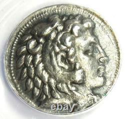 Alexandre Le Grand III Ar Tetrachm Argent Pièce 323-317 Bc Anacs Vf35