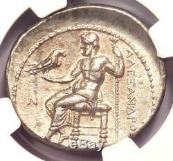 Alexandre Le Grand III Ar Tetradrachm 336-323 Bc Coin Certifié Ngc Xf Choix