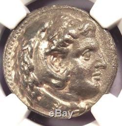 Alexandre Le Grand III Ar Tetradrachm Coin 336-323 Bc Certifié Ngc Vf
