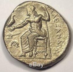 Alexandre Le Grand III Ar Tetradrachm Coin 336-323 Bc Choix Xf Condition