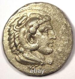 Alexandre Le Grand III Ar Tetradrachm Coin 336-323 Bc Vf (très Fine)