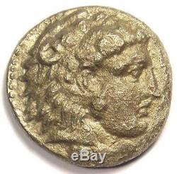 Alexandre Le Grand III Ar Tetradrachm Coin 336-323 Bc Xf Condition