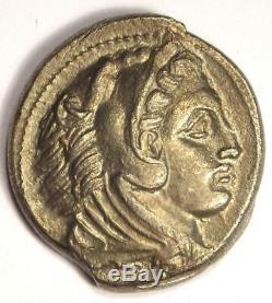 Alexandre Le Grand III Ar Tetradrachm Coin 336-323 Bc Xf Condition (ef)