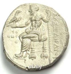 Alexandre Le Grand III Ar Tetradrachm Coin 336-323 Bc Xf (très Fine)