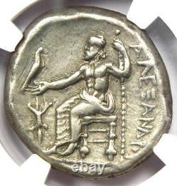 Alexandre Le Grand III Ar Tetradrachm Coin 336 Bc Ngc Ch Vf Lifetime Issue