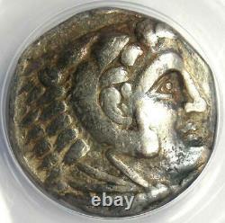 Alexandre Le Grand III Ar Tetradrachm Silver Coin 336-323 Bc Anacs Vf30