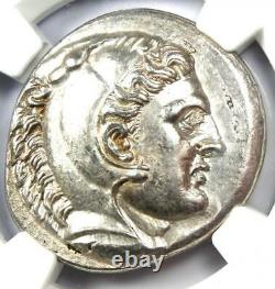 Alexandre Le Grand III Ar Tetradrachm Silver Coin 336-323 Bc Ngc Choice Au