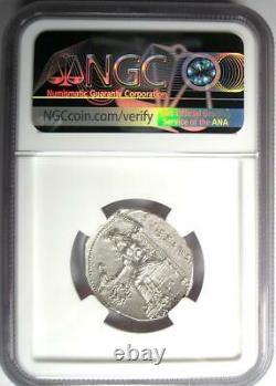 Alexandre Le Grand III Ar Tetradrachm Silver Coin 336-323 Bc Ngc Ms (unc)