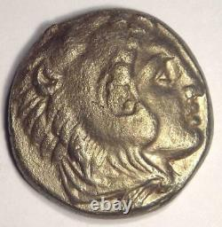 Alexandre Le Grand III Ar Tetradrahm Pièce 336-323 Av. J.-c. Nice Xf Condition