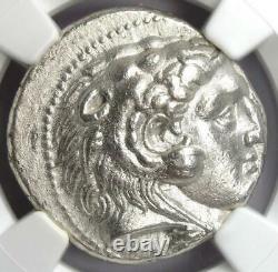 Alexandre Le Grand III Seleucus I Ar Tetradrahm Pièce 336-323 Av. J.-c. Ngc Au