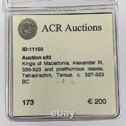 Alexandre Le Grand III Tetradrachm Silver Coin C. 336-323 Kings Bc De Macédoine