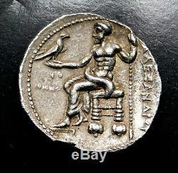 Alexandre Le Grand. Superbe Tetradrachm Ca. 320-319 Bc Grec Ancien Silver Coin