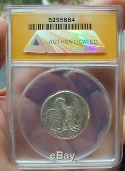 Anacs Antique Romaine Monnaie Nero Tétradrachme 62ad Syrie Monnaie Argent Belle