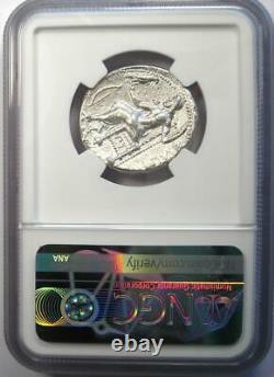 Ancien Macedon Philippe III Ar Tetradrachm 323-317 Bc Coin Certifié Ngc Xf Ef