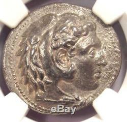 Ancien Macedon Philippe III Ar Tetradrachm Coin 323-317 Bc Certifié Ngc Ch Vf