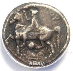 Ancien Macedon Philippe II Ar Tetradrachm Coin 336-328 Bc Certified Anacs Vf35