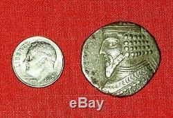 Ancien Parthes / Perse / Grec / Goodarz Ii, Gotarzes Ii, C. Ad 44-51 Bl Tetradrachm